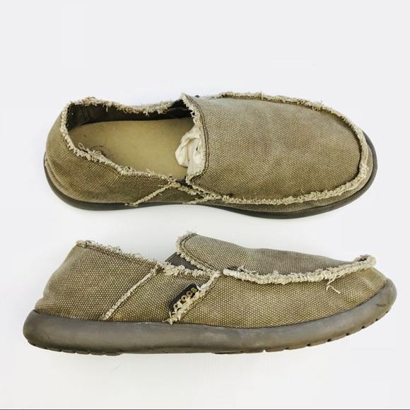 211e58de2b8e9 CROCS Shoes | Mens Santa Cruz Casual Canvas Slipon | Poshmark